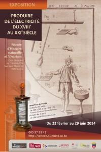 Affiche exposition Tournai